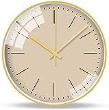 LLsp Reloj de Pared 14 Pulgadas Moderna Minimalista Decoración de la Moda Reloj de Pared Lujo Pequeño Reloj de Pared Fresco