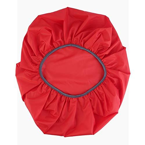 Panamami Nylon Rouge Housse de Protection Anti-Pluie pour Sac à Dos de Camping, Sac à Dos étanche à l'eau et à la poussière, Ultra-léger et réglable - Rouge