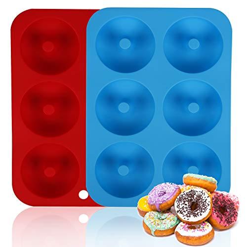 Moldes Repostería Silicona Donuts Marca Xingsky