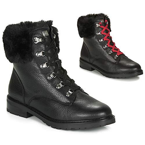 LAUREN RALPH LAUREN LANESCOT-BOOTS-WATERPROOF Laarzen dames Zwart Hoge laarzen