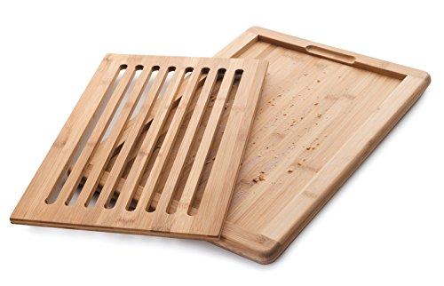 LACOR Brot Schneidebrett Bambu, Holz, Braun, 0 cm