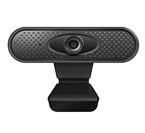 YHX Cámara Web HD 1080P con Micrófono Cámara Web, Computadora, Cámara Web Plug and Play De Escritorio para Transmisión En Vivo, Video Chat, Conferencias, Grabación, Clases En Línea, Juegos