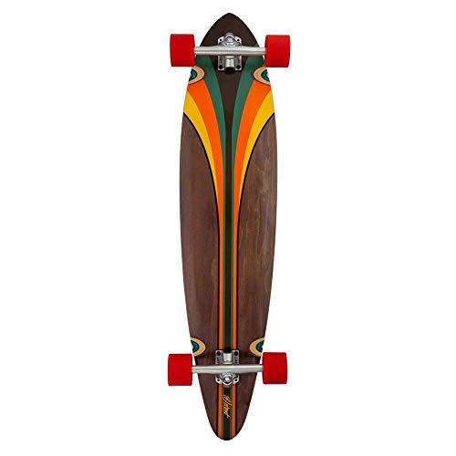 40 Globe Pinner Classic Vous Aimez Skater Nous Vous proposons des Planches Design au Rapport qualit/é Prix Incomparable Mens Off-White//Mustard