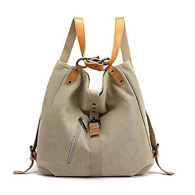 Women Backpack Purse Fashion Canvas Multipurpos...
