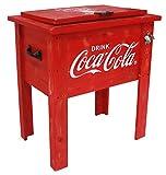 Leigh país Coca-Cola Vintage 54qt. Enfriador