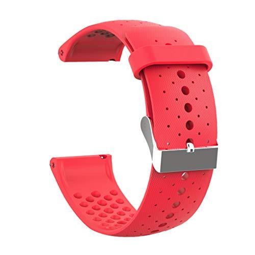 Fangjuhua Reloj de los Deportes de Repuesto Banda Ajustable Reloj Deportivo de Repuesto de reemplazo de la Correa de Banda de Silicona Banda de Reloj para Polar Vantage M