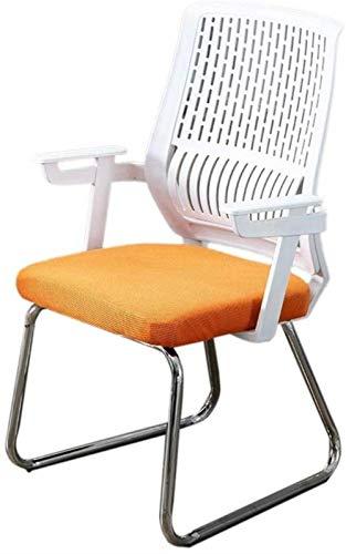 Comfortabele bureaustoel Computer stoel Budget-arm Lift Student Slaapzaal Terug Comfortabele Fit Zacht ORANJE
