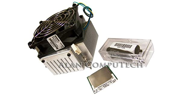 IBM Lenovo FSB 2.66GHz CPU with Heatsink Assembly 41D1809 SL7TV and 41D1825 Assembly