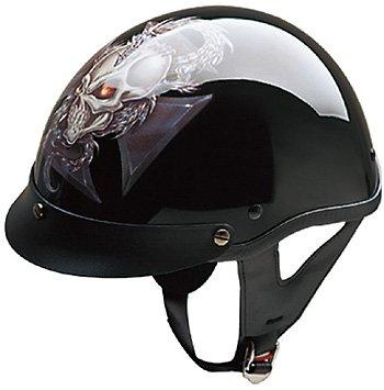HCI-100 Dragon Cross 1/2 Helmet-L