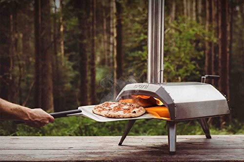 Ooni Karu 12 Forno Pizza, Forno a Legna da Esterno, Forno per Pizza da Giardino a carbonella, Forno a Gas