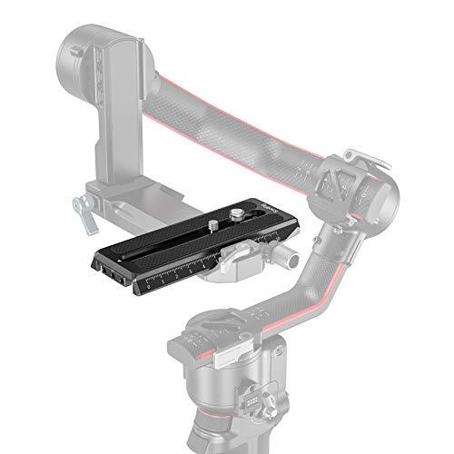 SMALLRIG Placa de Liberación Rápida para Manfrotto-Type Compatible con DJI RS2, RSC2 y Ronin-S (RS 2/RSC 2/RS) - 3158