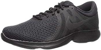 Nike Men s Revolution 4 Running Shoe Black/Black 10.5 Regular US