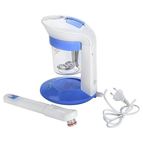 Portátil Vapor Facial Ion Vapor de Ozono Tratamiento Facial Uso Doméstico Humidificador de Aromaterapia EU