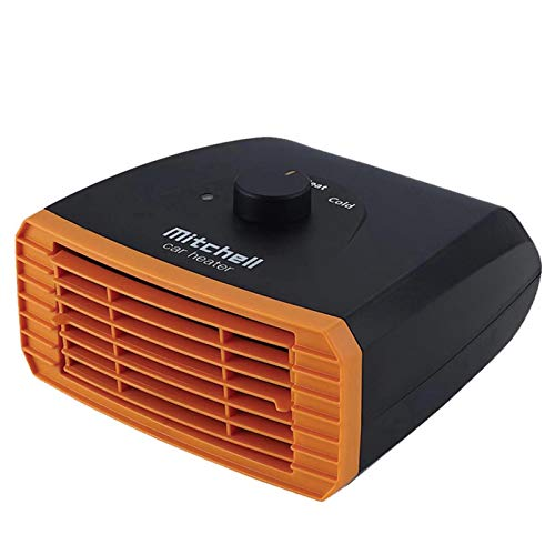 DRXX Calentador de Coche, Calentador de Coche portátil de Parabrisas de 12v-24v, Ventilador de refrigeración de calefacción de Coche de Calentamiento rápido para Coches, Barcos, Camping, camionetas