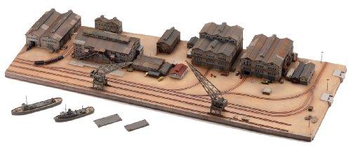 タカラトミー 技MIX 地上航行模型シリーズ CK 情景ストラクチャー 艤装工場地帯セット