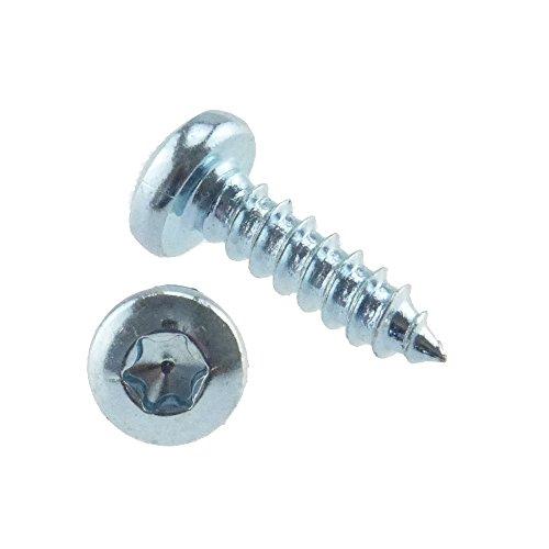 Linsen-Blechschraube ähnlich DIN 7981 Stahl gal zn Form C-ISR 5,5 x 13-500 Stück