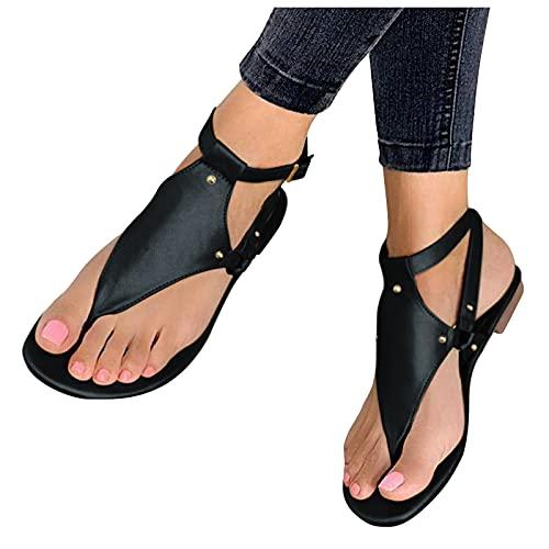 WINTOM Sandali Estivi Donna Tacco Alto Scarpe Casual Donna Primavera 2021 Women Stretch Cross Orthotic Slide Sandals Sandali Ze
