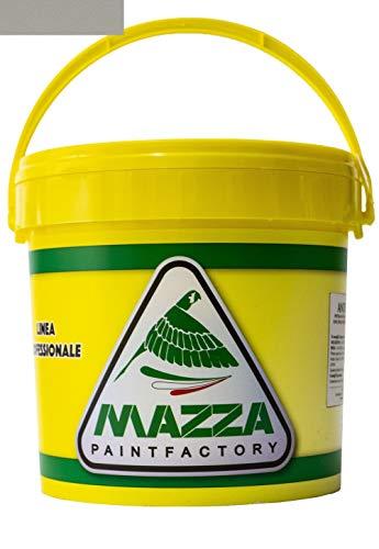 Guaina Liquida Impermeabilizzante Monocomponente Colorata Pedonabile All'Acqua Colorificio Mazza lt 5 lt 14 (5 Litri, Grigia)
