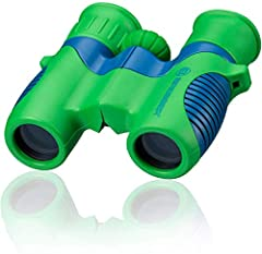 ExploreOne 6 x21 binoculars. The binocular lenses and prisms are from optical glass material 6x magnification lens diameter 21mm rubber coated including nylon wrist strap and bag Comes with a carry bag that has a loop that they can strap onto a belt ...