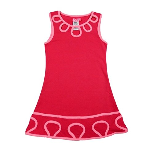 Lofff Loop Dress - zomerjurk - fuchsia, roze 116