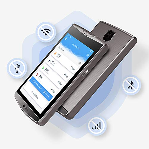 ELLIPAL Cryptocurrency Hardware Wallet, Internet Isolated & Large Screen, Easy...