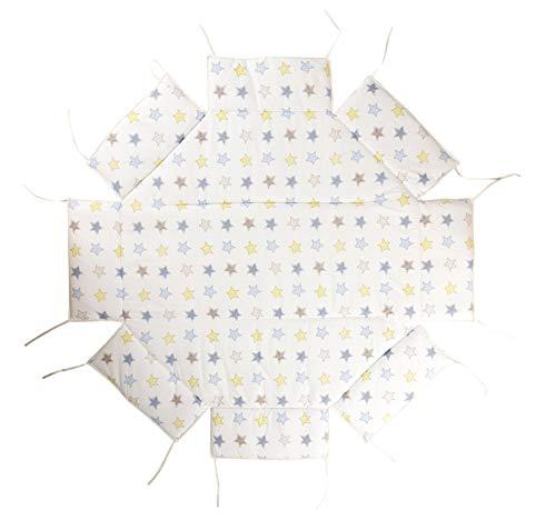 Colchón para parque de bebés, GEUTHER multicolor estrellas Talla:106x106 cm