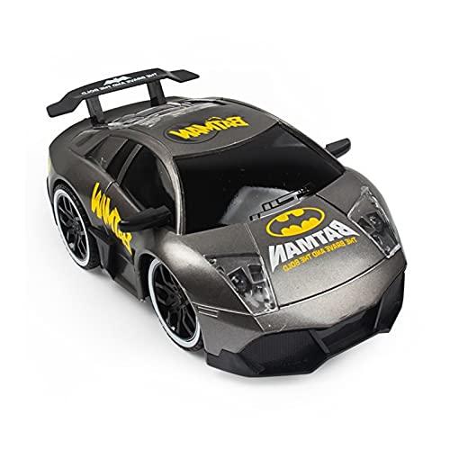 Superhéroe 4WD High Speed Control Remoto Control Rift Drift Electric RC Car 2.4GHz Radio Radio Control Rac Racing Cars Electric Racing Coche para niños y Adultos al Aire Libre X ( Color : Gray )