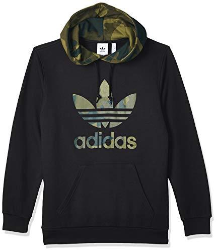 adidas Herren Sweatshirt CAMO OTH, Black/Multicolor, S, FM3358