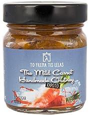 To Filema Tis Lelas Zanahoria Chutney hecho a mano -The Mild Carrot 225g, Paquete de 2