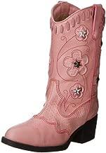 Roper Light Up Flowers Western Boot (Toddler/Little Kid),Pink,3 M US Little Kid