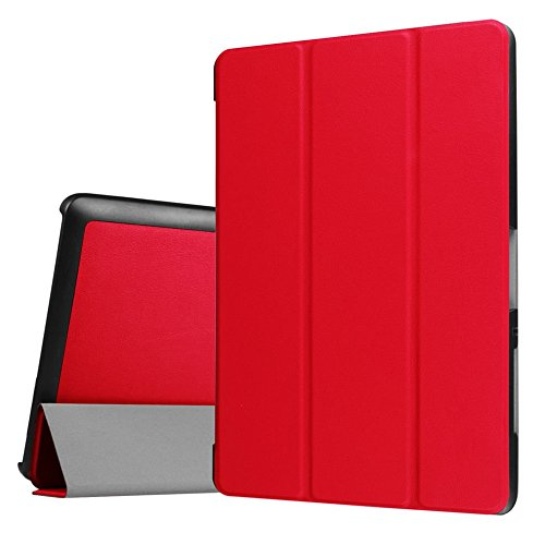 Hülle für Acer Iconia One Tab 10 B3-A30 / A3-A40 10.1 Zoll Schutzhülle Etui Tablet Tasche Smart Cover (Rot)