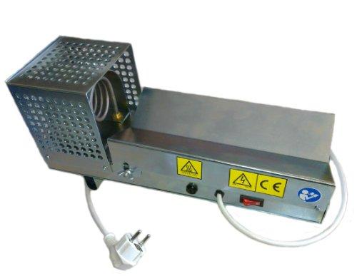 Encapsuladora eléctrica horizontal para termocápsulas retráctiles