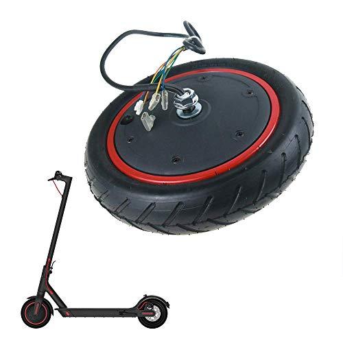 SEESEE.U Motor Rad Reifen für M365 Elektroroller Pneumatisches Roller Rad Anti-Rutsch-Reifen Stoßdämpfer Reifen Ersatz