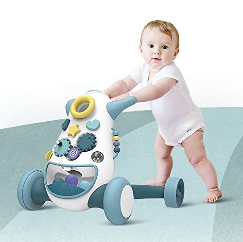 Thorberg Rueda antideslizante para motocicleta, coche de juego y andador (K1 azul)