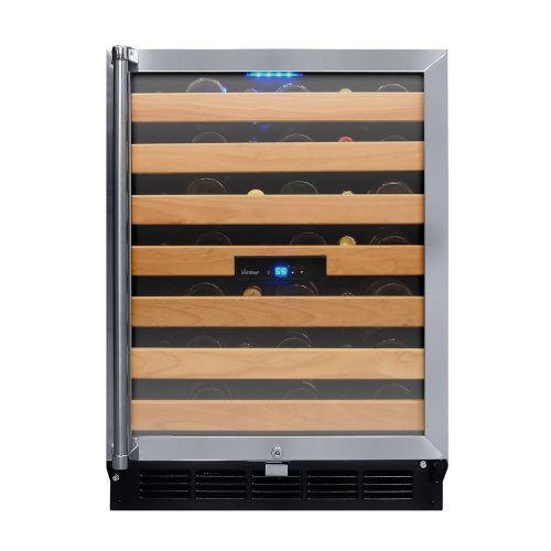 Vinotemp 50-Bottle Wine Cooler with Interior Display