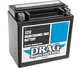Harley Davidson XL 883-XL 1200 - Batteria Drag Specialties DTX14L-BS-EU-2113-0467