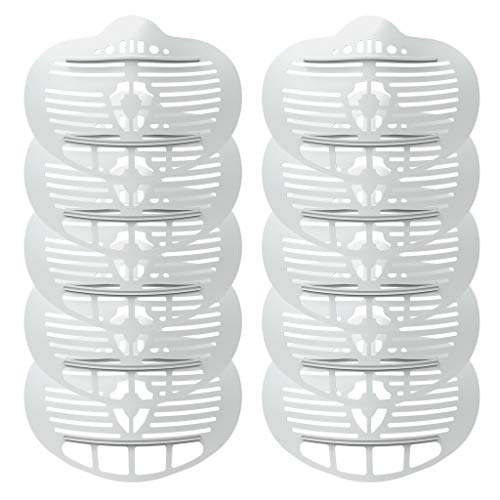 10 Pcs 3D Facemask Bracket Help Increase More Space to Breathing Internal Support Holder Frame Protect Makeup and Lipstick Washable Protection Stand