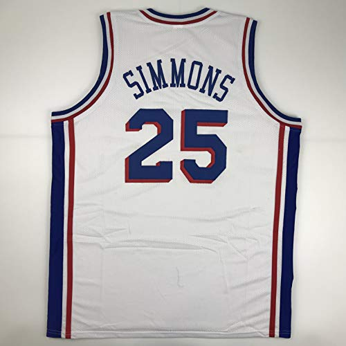 Unsigned Ben Simmons Philadelphia White Custom Stitched Basketball Jersey Size Men's XL New No Brands/Logos