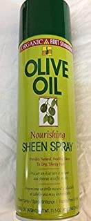 Olive oil nourishing sheen spray
