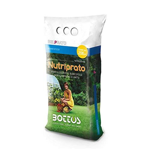 Engrais fertilisant pour pelouse Bottos Nutriprato 16-16-16-5 kg