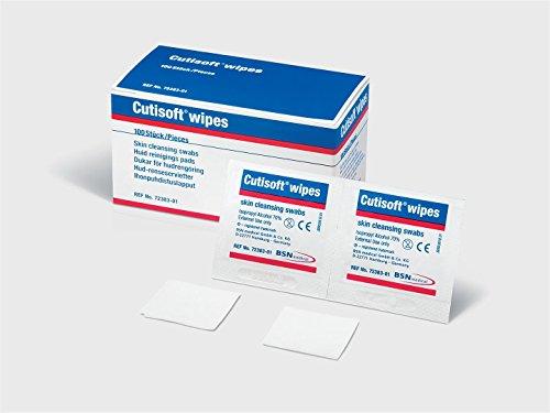 Cuticell 72383-01 Cutisoft Wundkompresse, 100 Stück