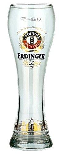One Erdinger Weisbier Half Pint Glass (1 Glass)