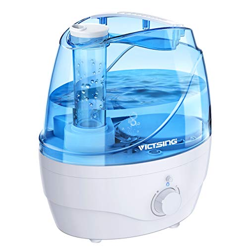 VicTsing 2200ml Cool Mist Humidifiers, Ultrasonic Humidifiers with Large Water Tank, 24 Working...