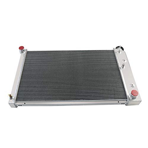 2 x 10 Fan w//Louver Shroud Kit for 1970-1987 71 72 73 74 75 76 77 78 79 80 81 82 83 Chevy//GMC C//K//G-Series C10 C20 C25 C3500 Nova Camaro Blazer and More OzCoolingParts 3 Row Core Aluminum Radiator