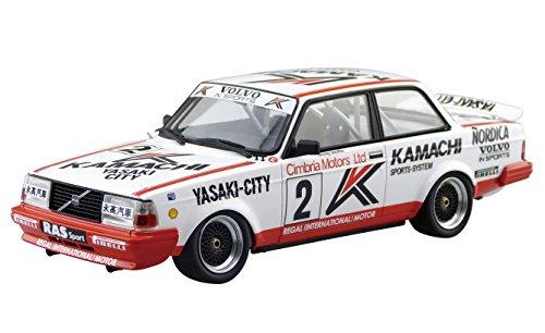 青島文化教材社 スカイネット 1/24 BEEMAXシリーズ No.16 ボルボ 240ターボ 1986 マカオギアレースウィナー...