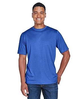 Team 365 Men s Sonic Heather Performance T-Shirt Sp Royal Heather XXXX-Large