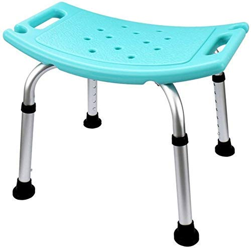ZXY-NAN Bathroom Wheelchairs Stools Stool Safety Comfort Bath Chair Elderly/Handicapped/Pregnant Adjustable Aluminum Alloy Bath Stool Antislip Chair Max. 100kg