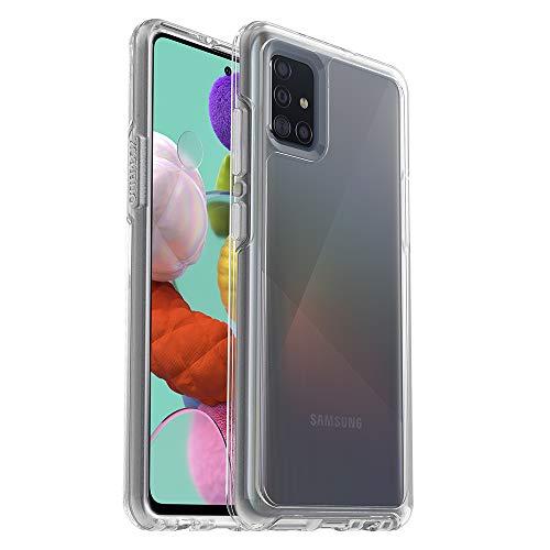 Otterbox Symmetry Clear, funda anticaídas, fina y elegante para Samsung Galaxy A51, Transparente