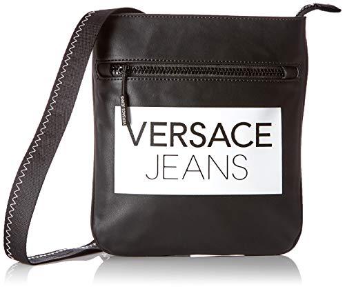 Versace Jeans Couture Bag, Sac à l'épaule Homme, Noir (Nero), 2x24x22,5 Centimeters (W x H x L)