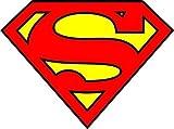 Set of 3 -Diecut Vinyl Superman Logo Comic Colored Batman Marvel Sticker